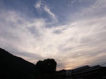 嵐山の夕暮れ